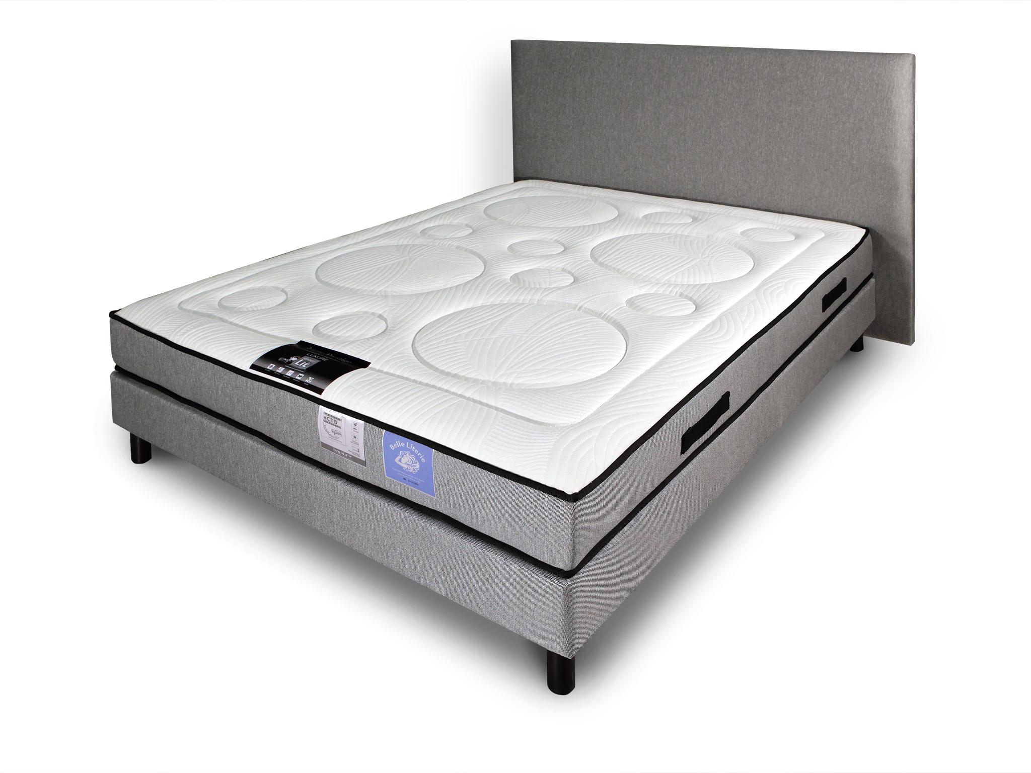 lit plus matelas latest qt with lit plus matelas lit. Black Bedroom Furniture Sets. Home Design Ideas